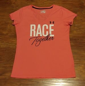 UA Breast Cancer Awareness Race tee